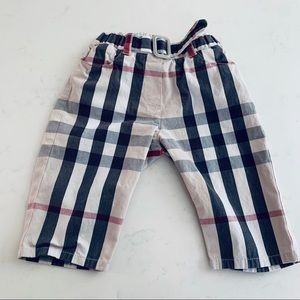 Burberry baby boys pants